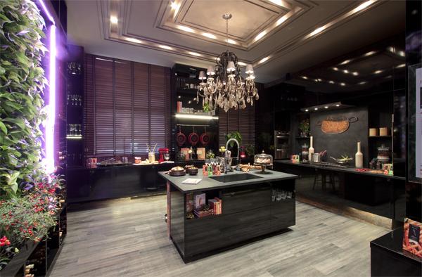S c a na casa cor ambiente cozinha contempor nea for Casa moderna tecnologica