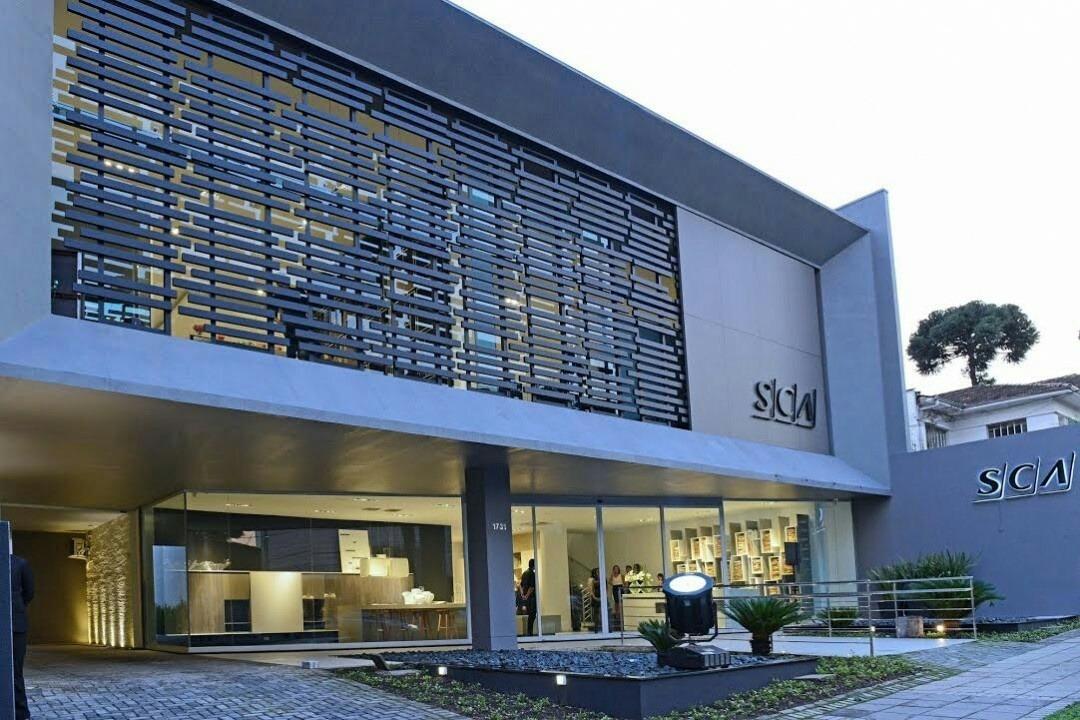 Um luxo! O novo showroom da SCA em Curitiba PRhellip