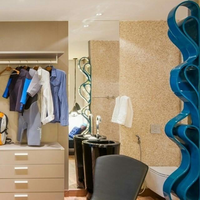 Dormitório moderno para um apaixonado por surf: projeto da Casa Cor® Alagoas. #men'stime
