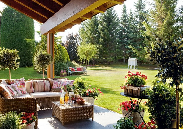 Quintal varanda ou jardim como explorar a rea externa for Jardines rusticos campestres