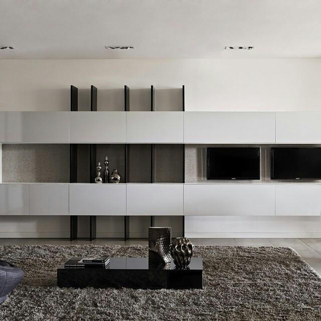 Com linhas limpas e suaves, esse home theater S.C.A. é contemporâneo, clean e atual. Combina com você?