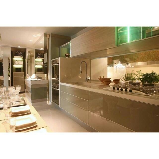 Projeto de cozinha S.C.A. elegante, moderno e funcional. Quem curte? #kitchen