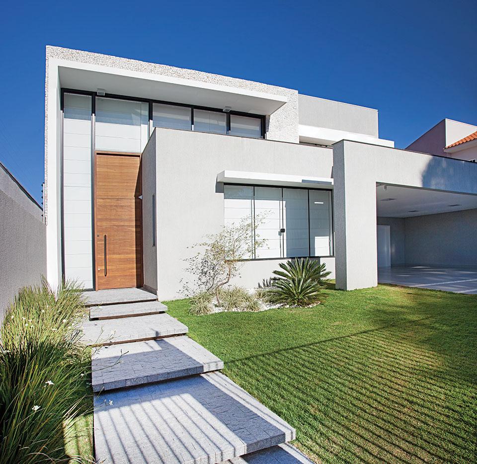 Fachadas de casas tend ncias que est o em alta for Fachadas de casas minimalistas 2016