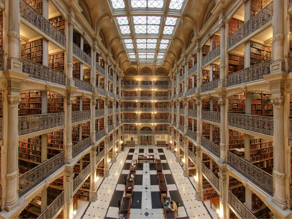 george-peabody-library-in-baltimore-maryland-usa