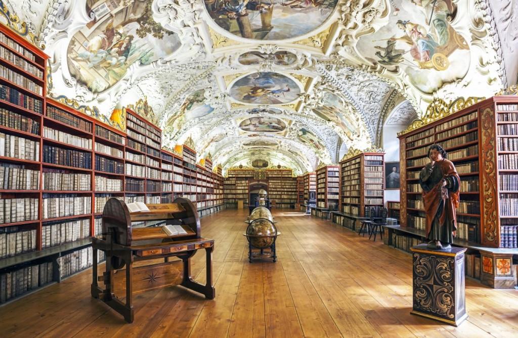 strahav-library-in-prague-czech-republic