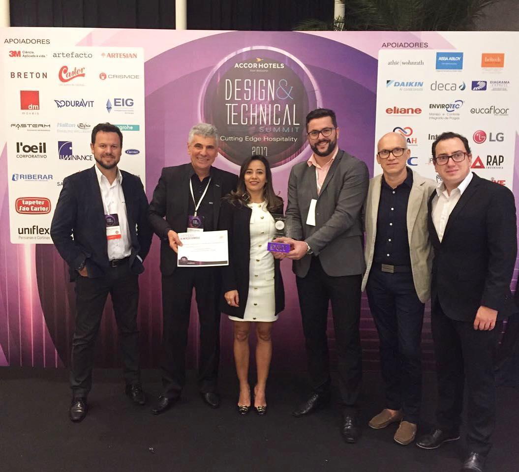 SCA recebeu hoje o Prmio Accorhotels na categoria Ideias Inovadorashellip