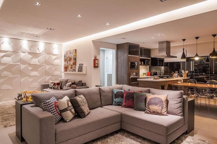 Raduan Arquitetura https://www.vivadecora.com.br/foto/100094/sala-de-estar-com-cozinha-integrada
