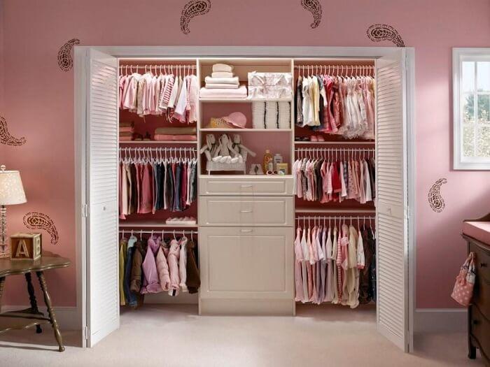 Guarda-roupa de menina – Revista Viva Decora https://www.vivadecora.com.br/foto/13973/quarto-de-menina-rosa-com-closet